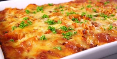 Пицца из пельменей