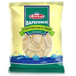 Замороженные вареники с картошкой и жареным луком
